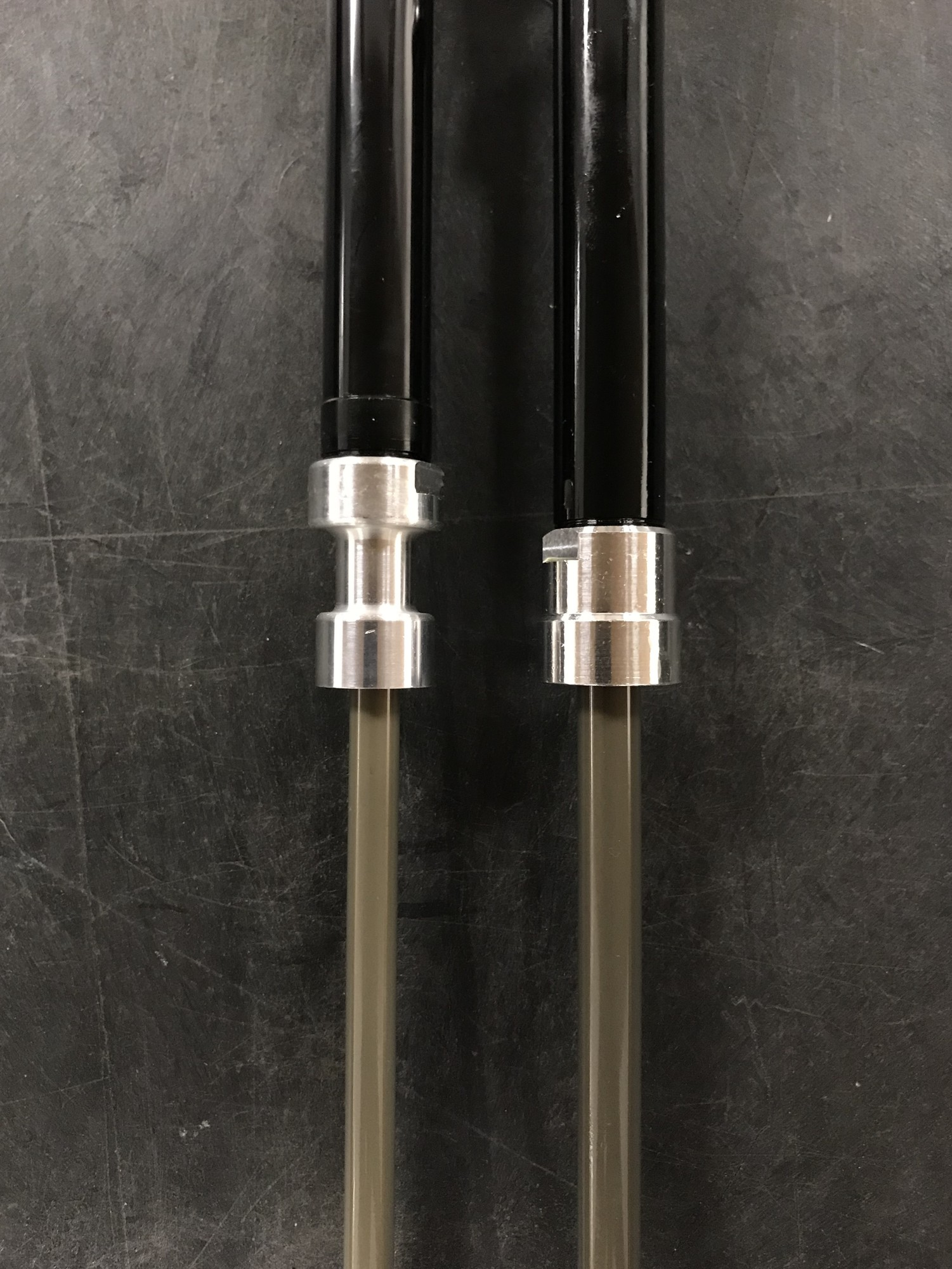 8mm shaft compared to the prior model's 10mm shaft
