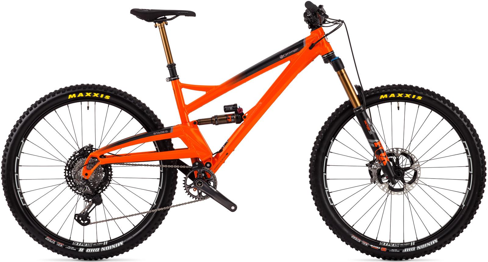 Orange Stage 6 XTR