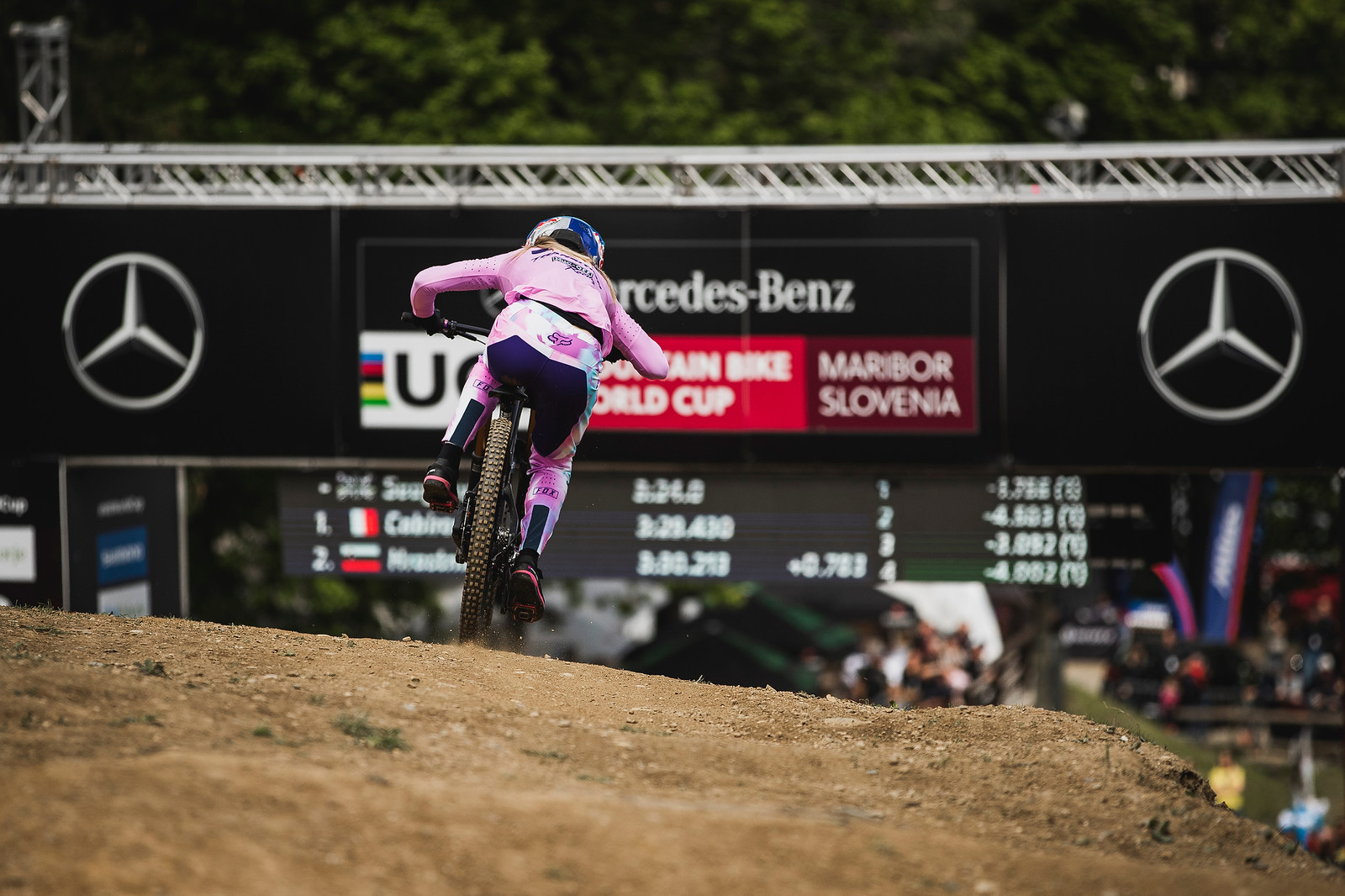 The first round of the 2019 UCI MTB World Cup, Maribor.