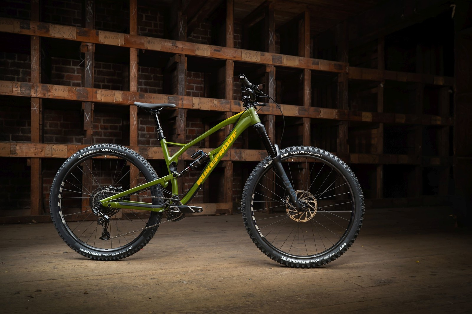 The Bike That Made Sam Hill Ride a 29er: New Nukeproof Mega 290c