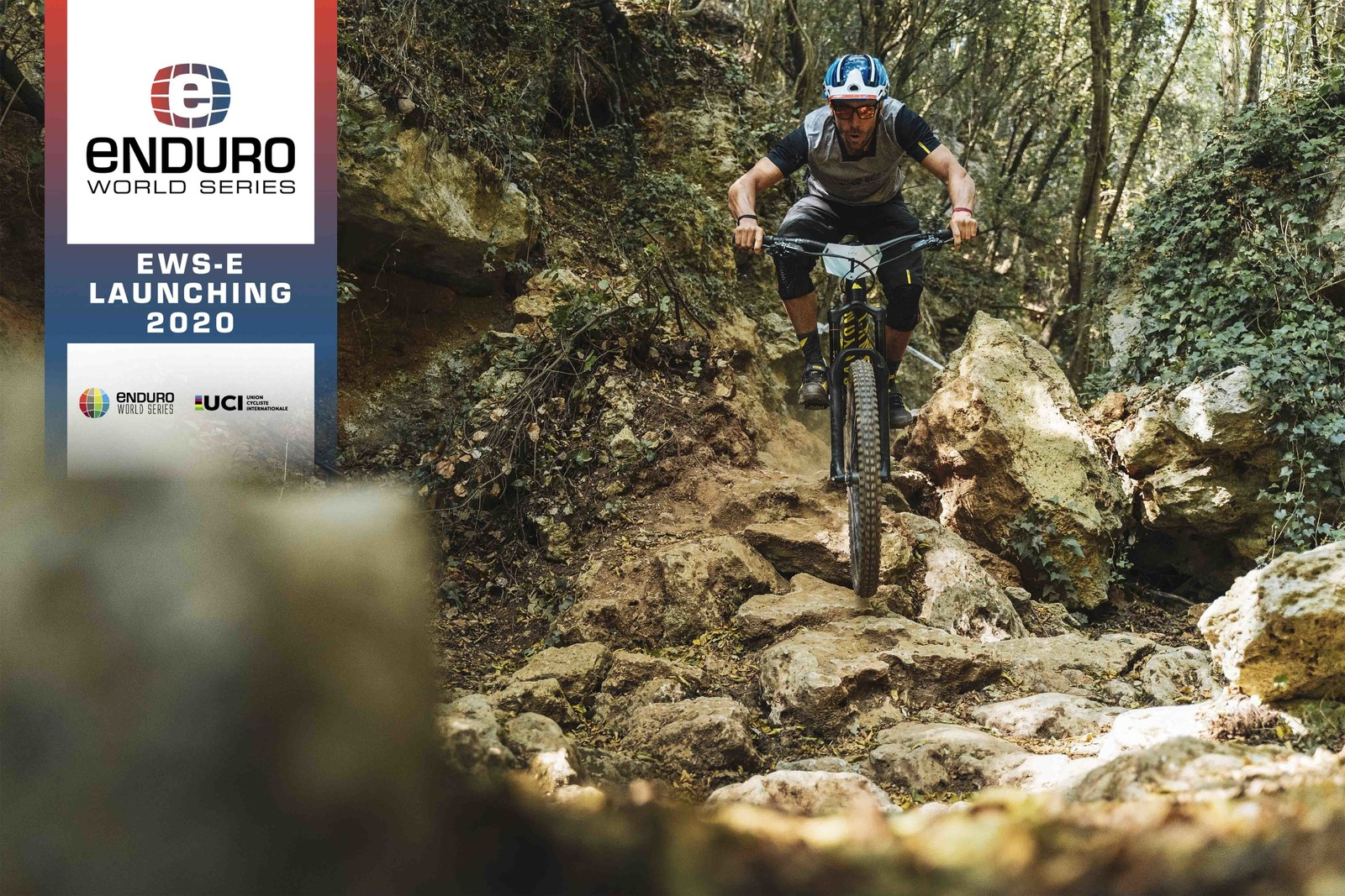 EWS-E will offer a new format of enduro racing that features both technical climbs and descents