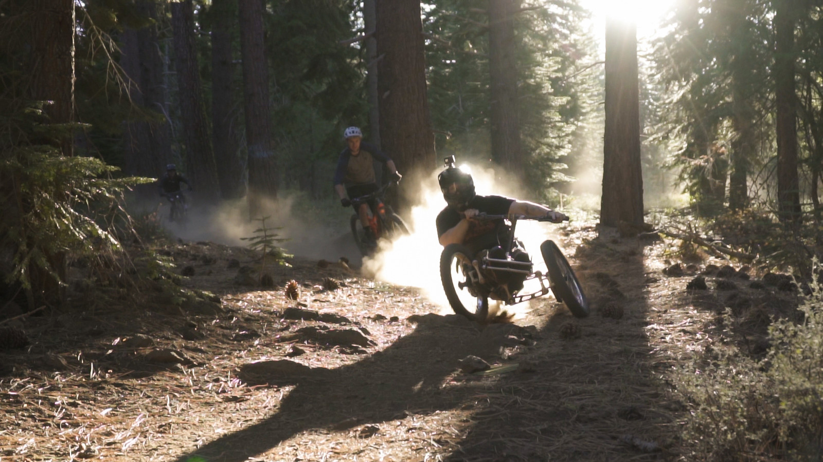 High Fives athletes on local Truckee trails
