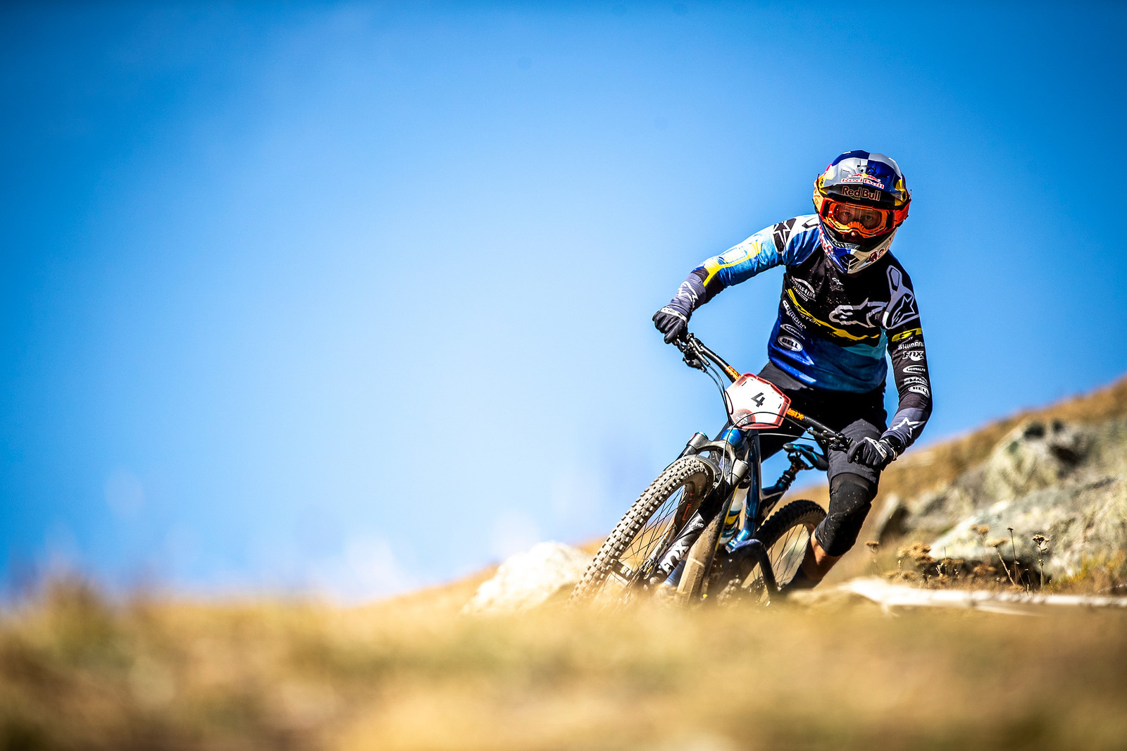 Martin ended the season on a high note with a win at EWS Zermatt