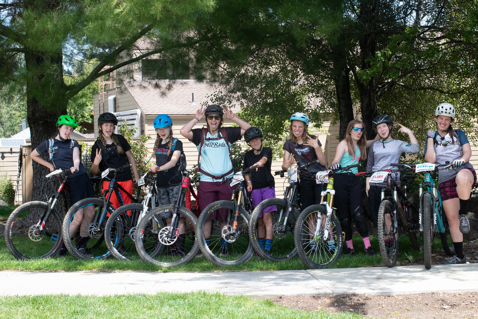 Head coach Cierra Smith has five Jr. downhill national championship titles and now helps young girls experience the power of bicycles