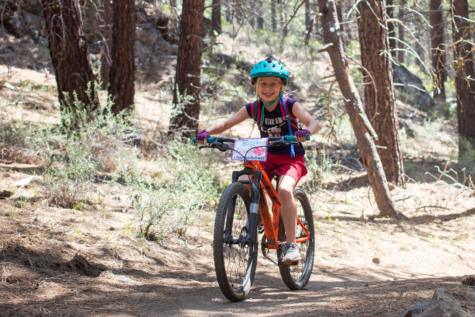 Witnessing girls thrive because of confidence gained through mountain biking is priceless