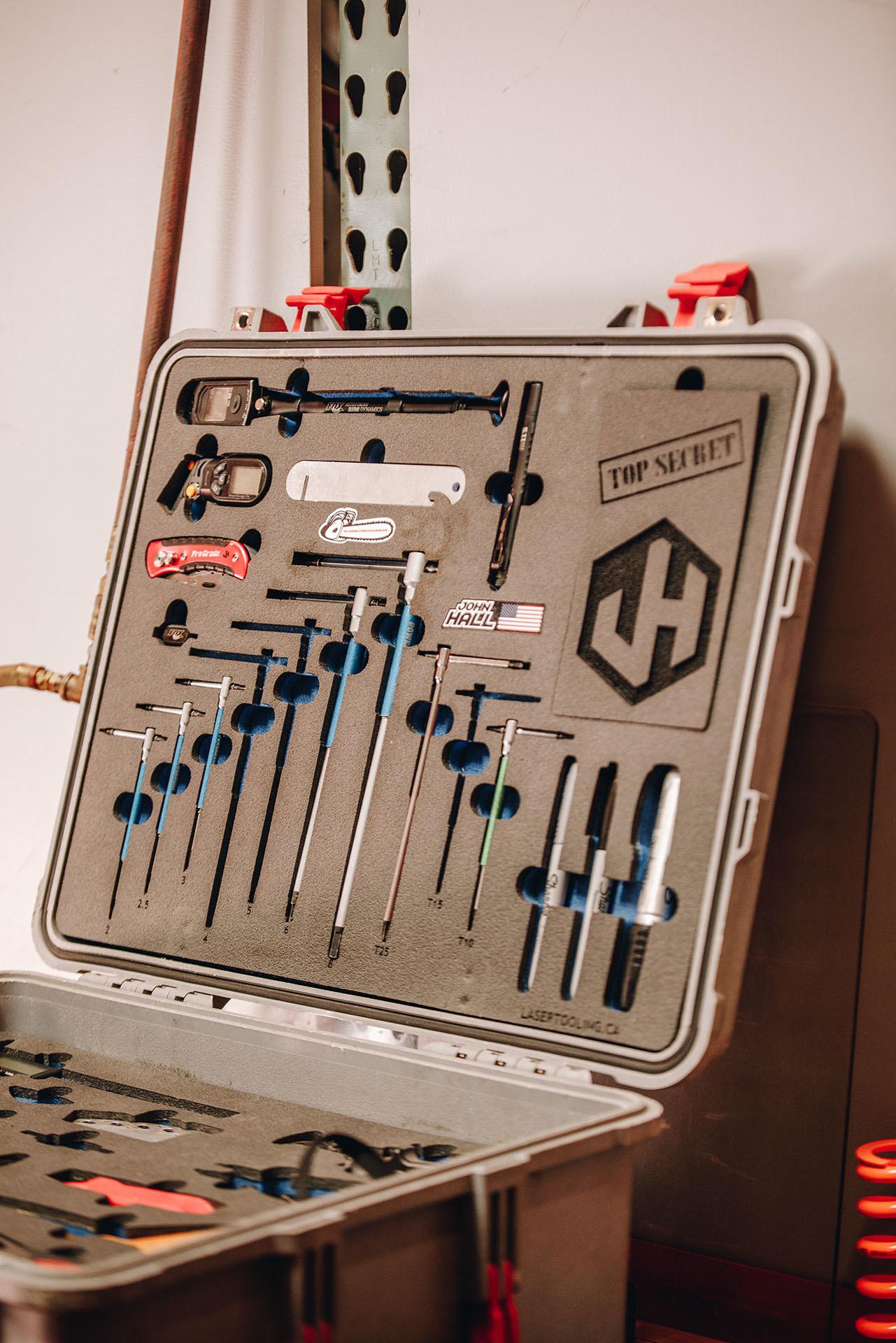 Sneak peak inside John's tool box