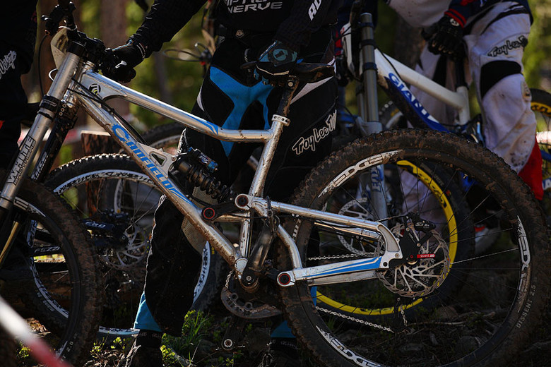 Frankenbike 29er from the SolVista Triple DHip mentioned in the podcast.