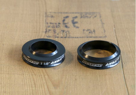 1 1/8-inch Angle spacer + Tapered Angle Spacer
