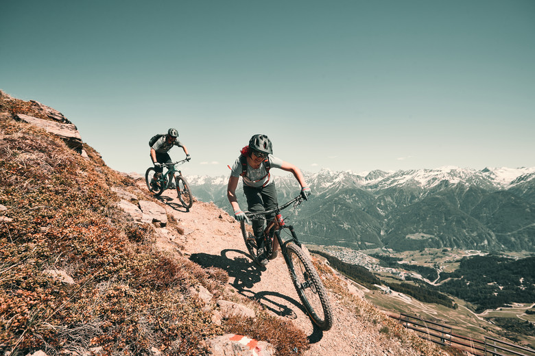 Jochtrail, Serfaus-Fiss-Ladis with Angie Hohenwarter