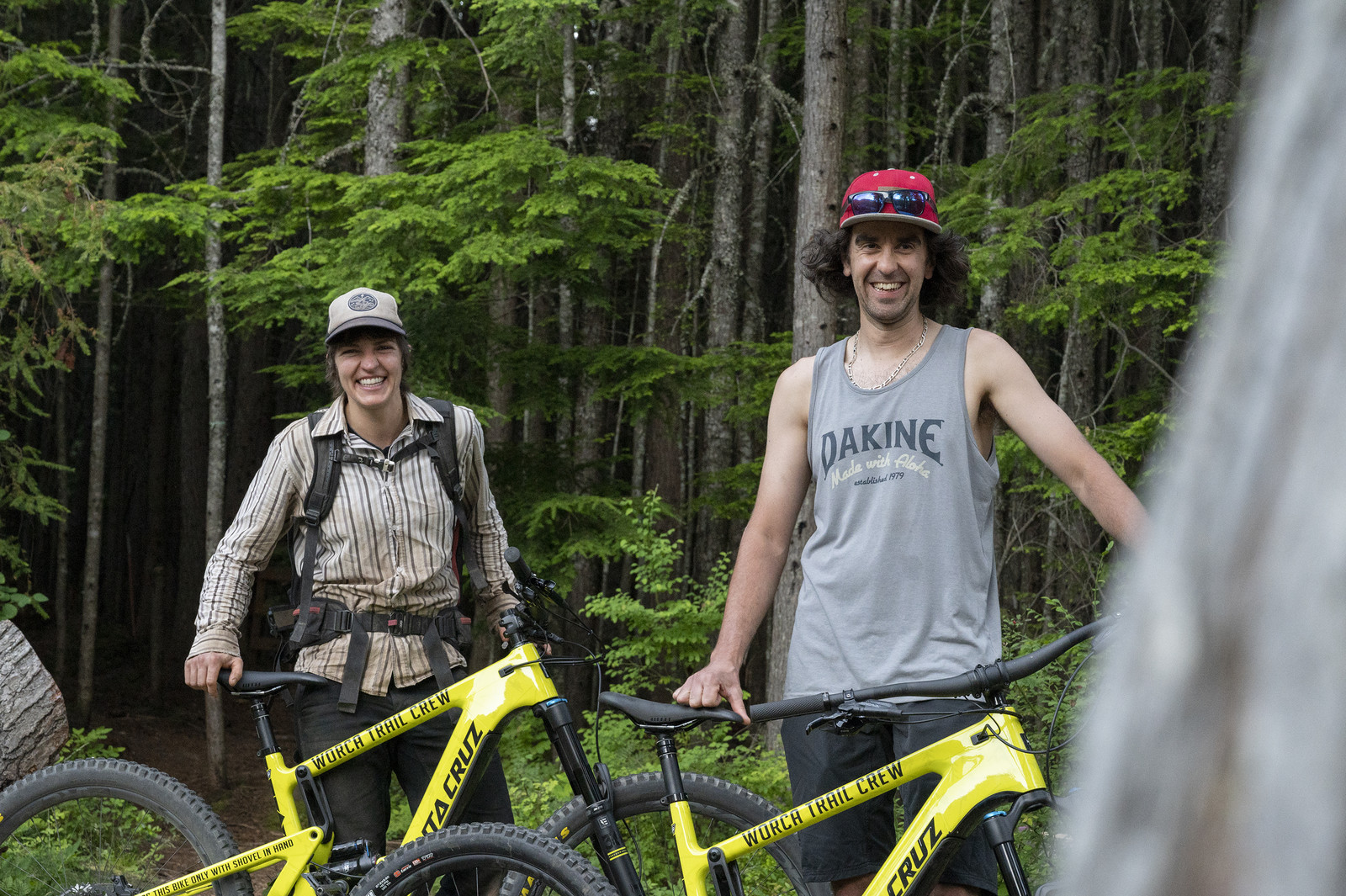 Renee and Benoit of WORCA trail crew have been enjoying the new tools!