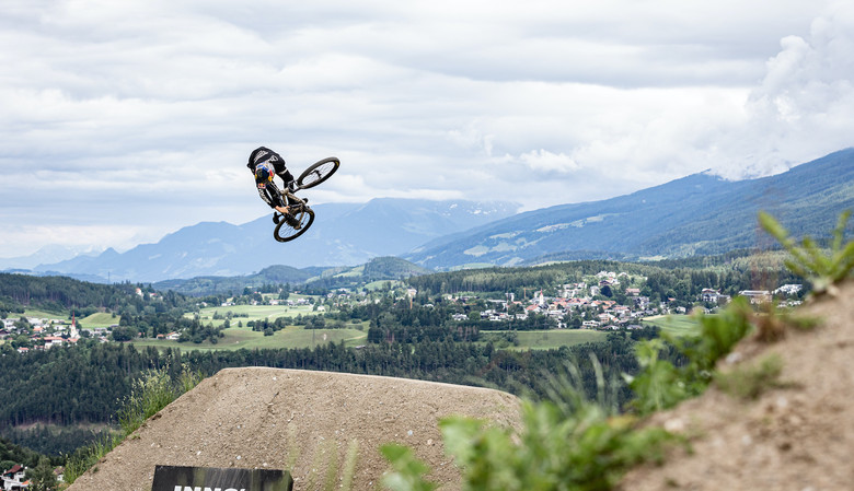 Emil Johansson at Crankworx Innsbruck 2019 Photo by Richard Bos, RASOULUTION