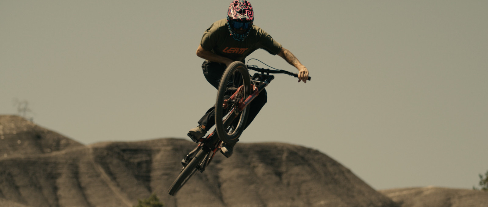 Tomas Lemoine demonstrates his huge skill set on a number of his bikes