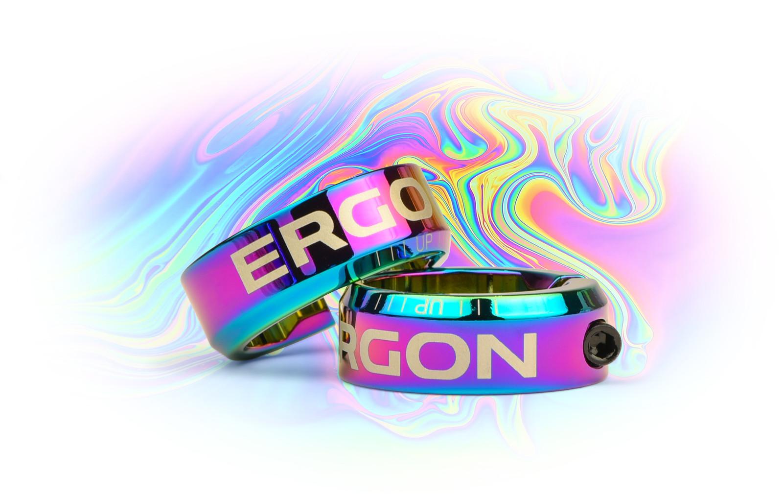 ERGON GA2, GA2 FAT, GA3, GD1, GD1 Evo, and GFR1 grip clamps.