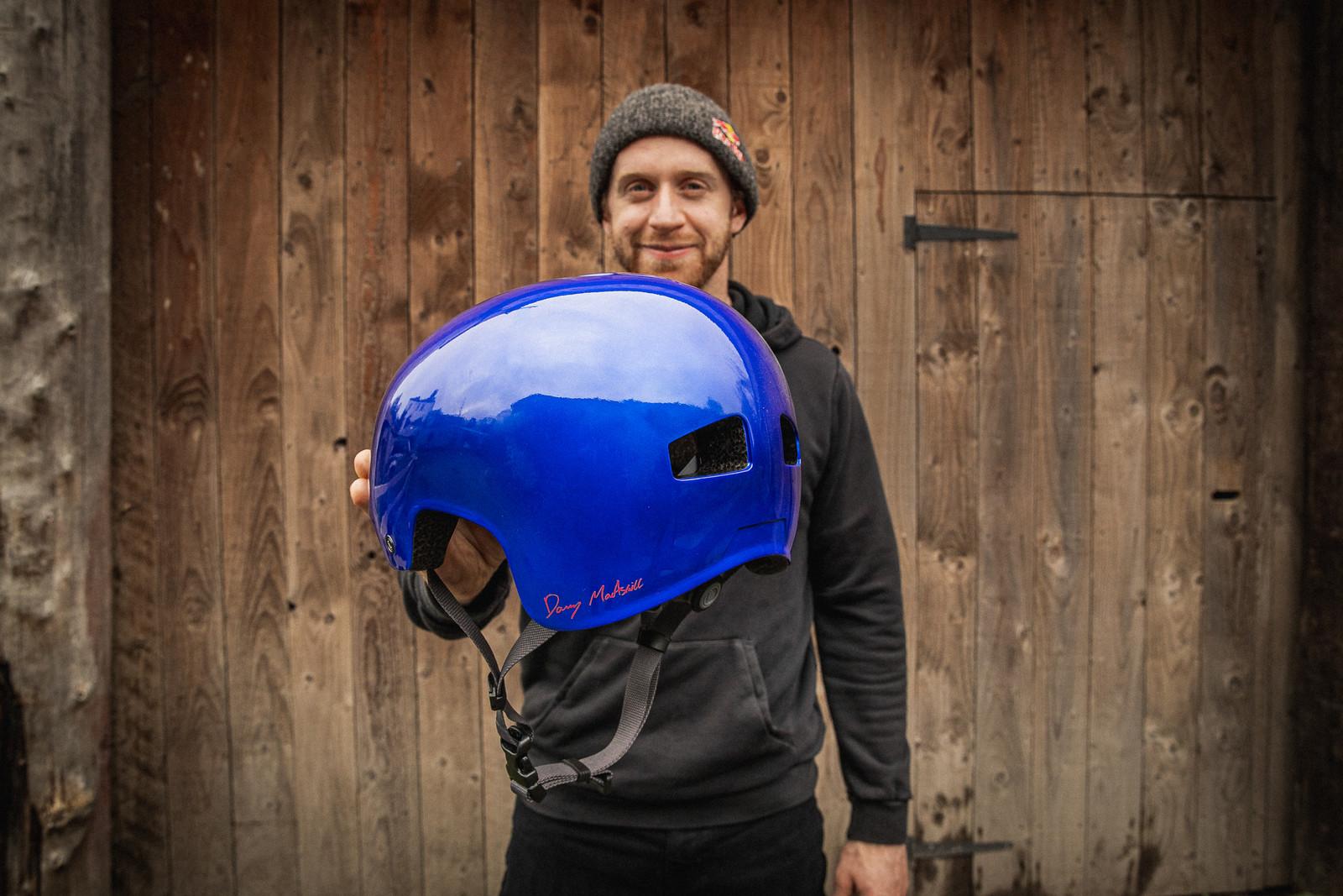 Danny MacAskill's Signature Helmet from Endura