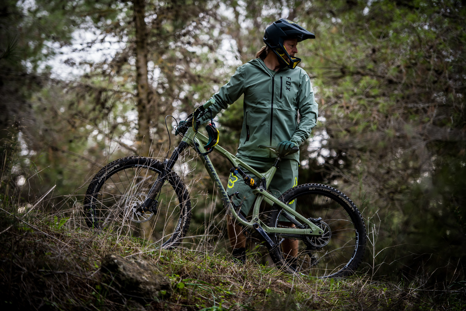 Details about  /New Winter Fleece FOX Cycling Jersey DH MTB Off Road Racing Clothing Quick Dry