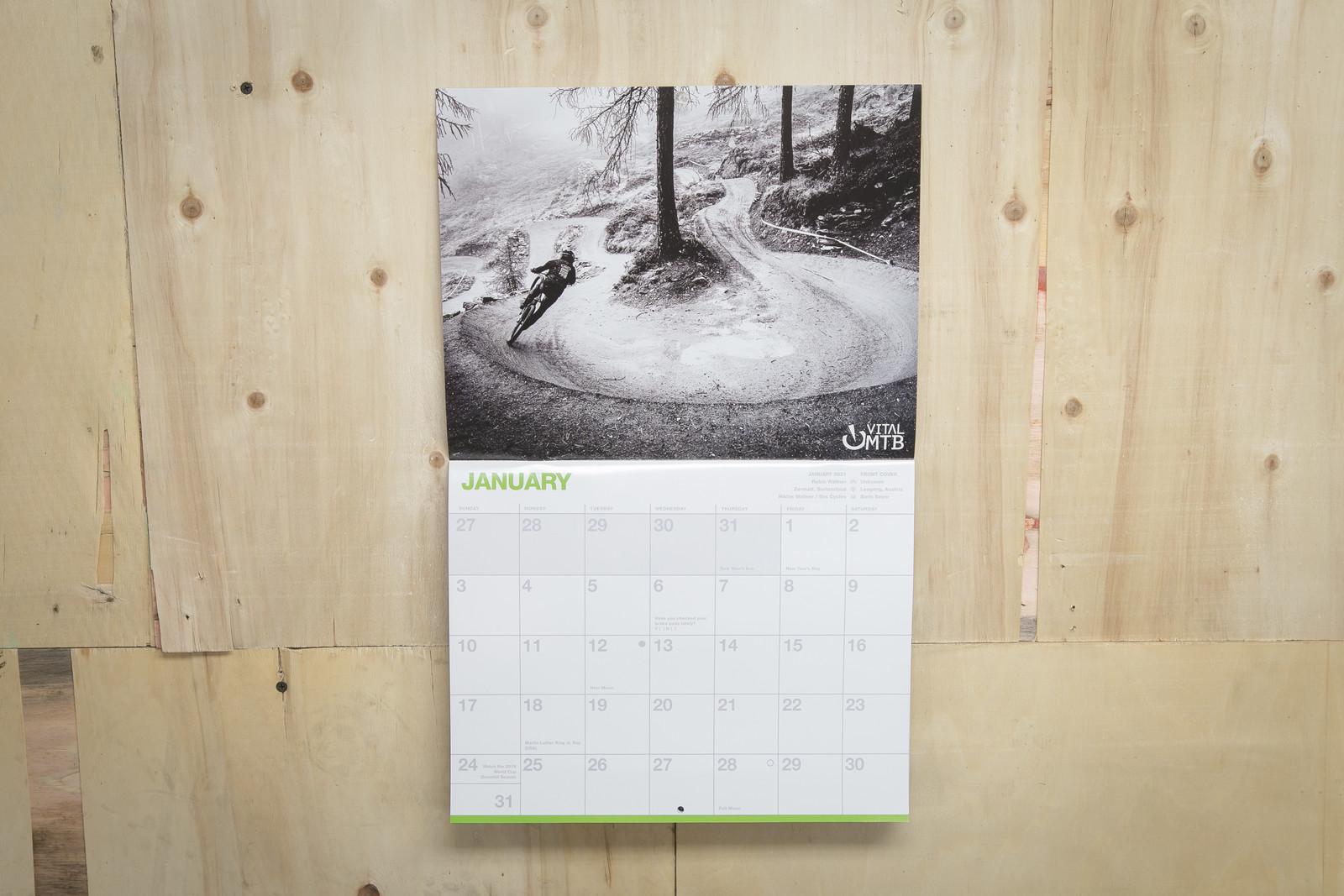 2021 Vital MTB Calendar