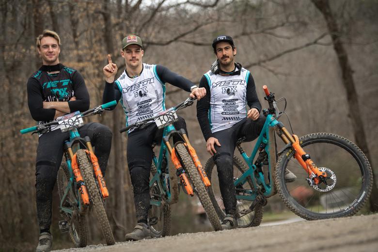 Yeti/FOX Factory swept the EWS Men 1, 2, 3