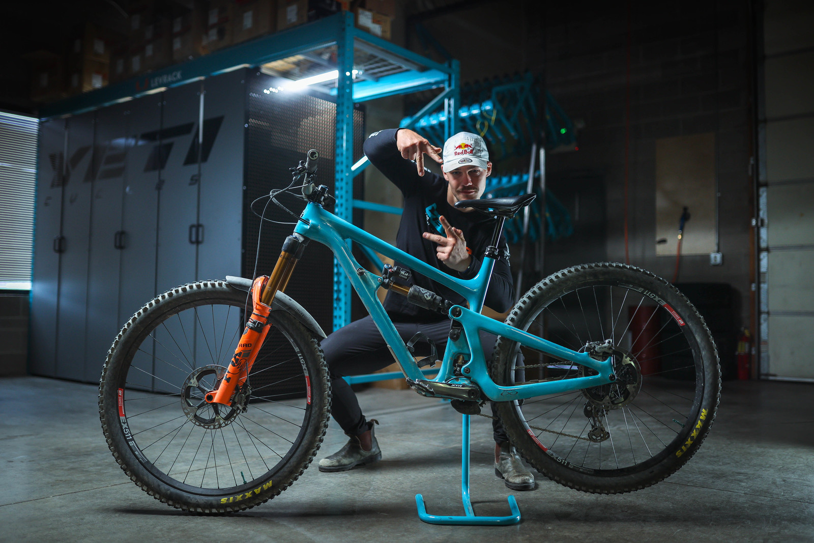 Richie Rude doing his best Turquoise Steel.