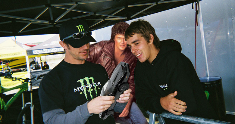 Sea Otter 2007 or so with Heimdahl and Hasselhoff.