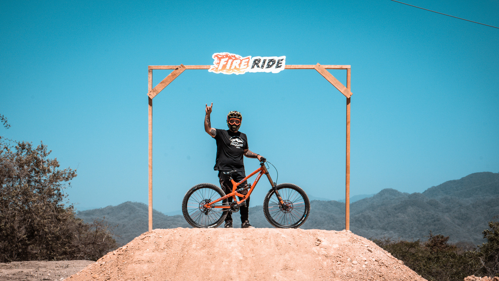 Tobo on his Commencal Furious