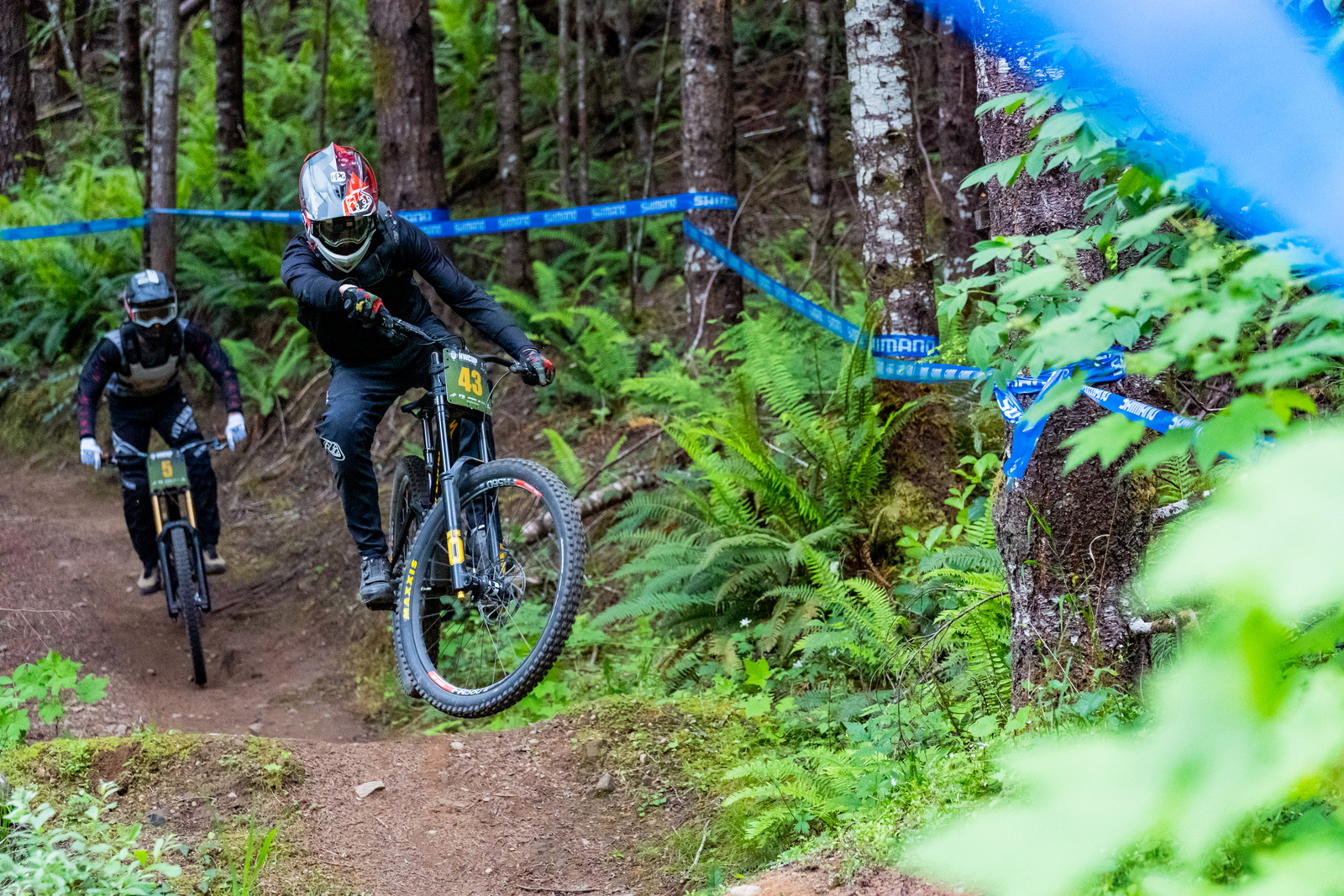 Chayve Williams with a little style during Pro practice. He ended up 11th on the weekend.