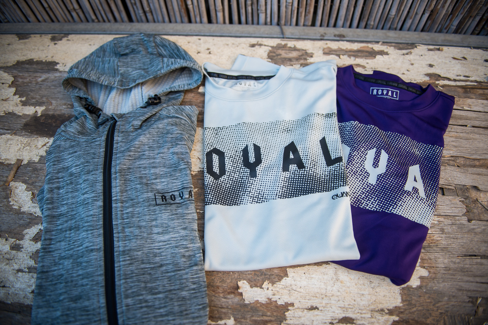 Quantum Jerseys and Tech Hoody - part of the Quantum Layering System