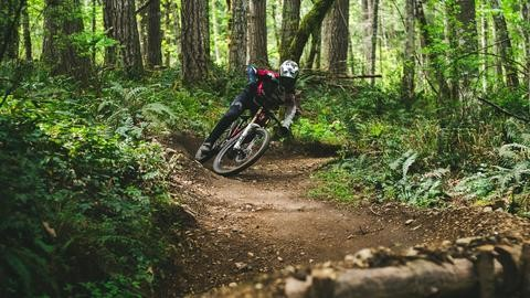 Slapping berms and no holding back