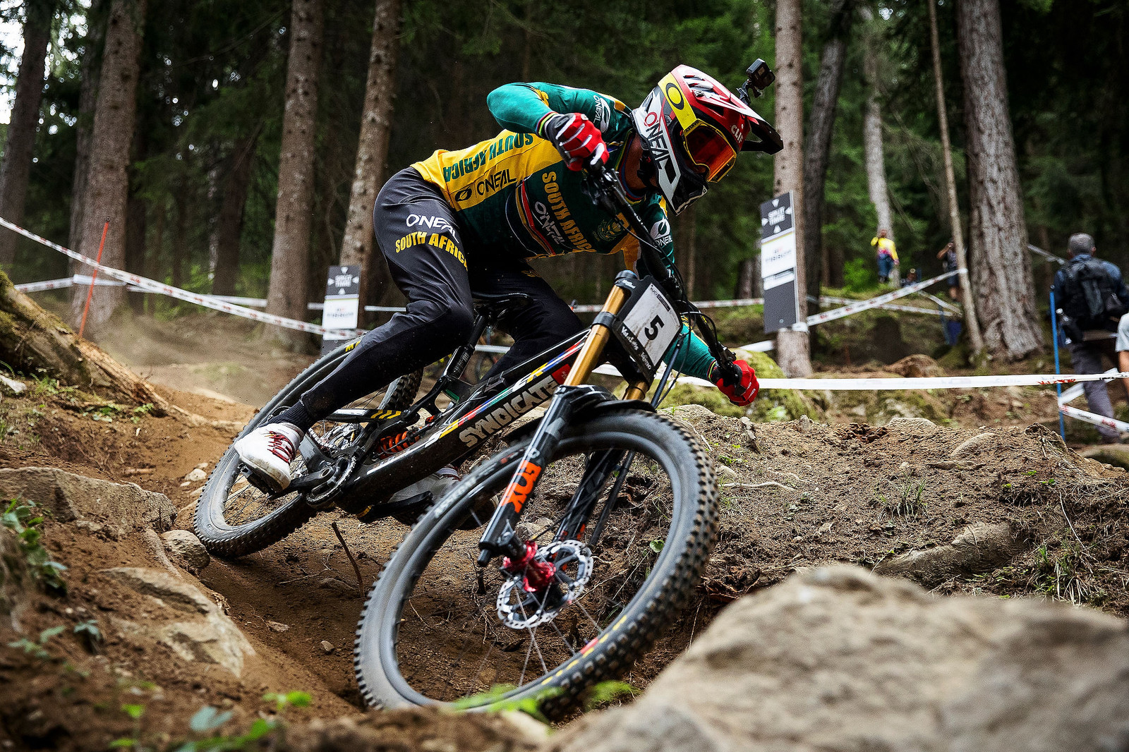 2021 UCI Mountain Bike Downhill World Champion, Greg Minnaar
