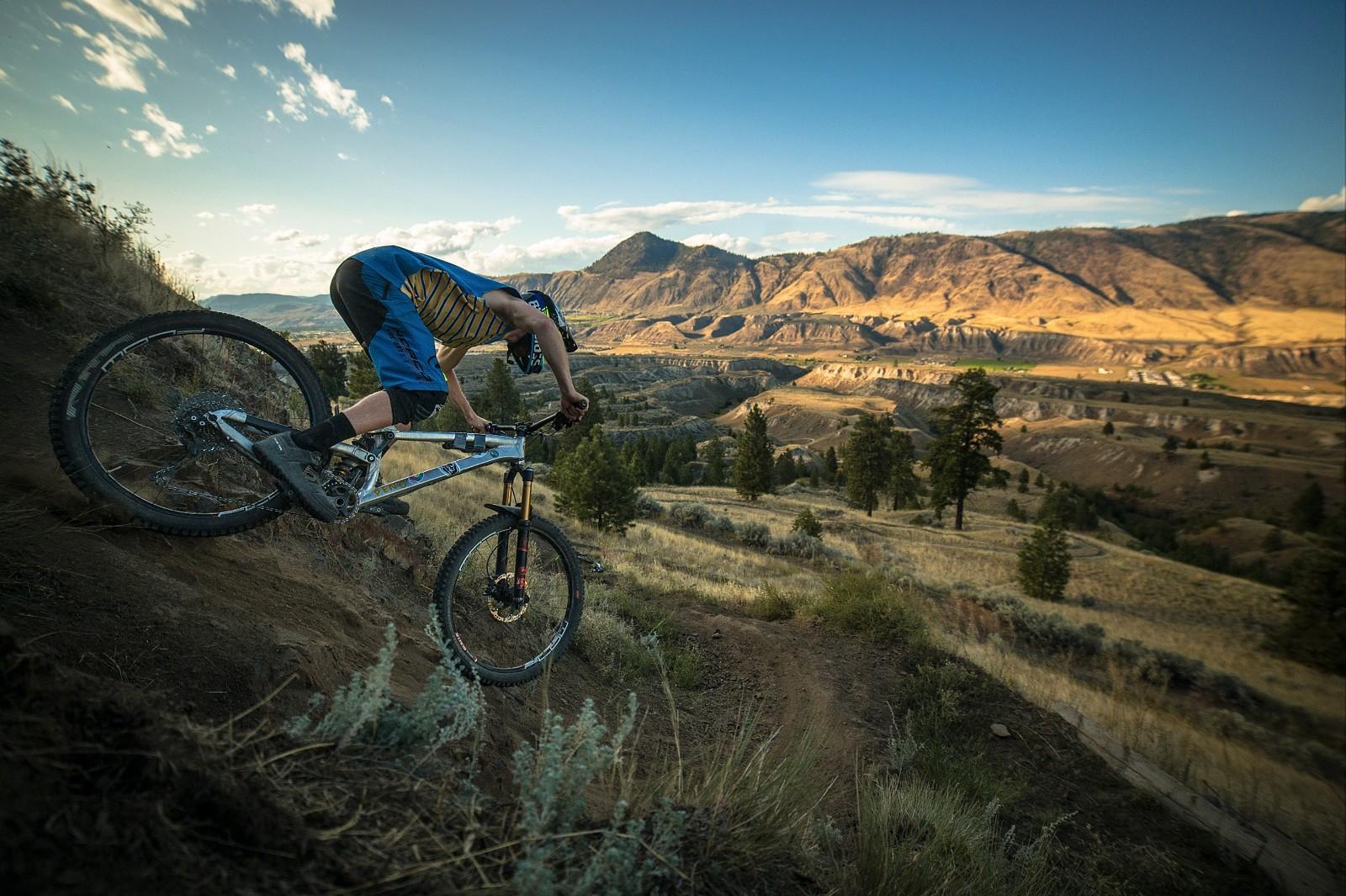 Kamloops at sunset - ThomasGaffney - Mountain Biking Pictures - Vital MTB