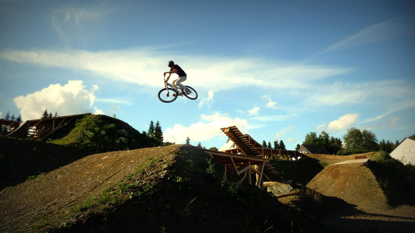 Red Bull Bergline Boner Log - JonaB - Mountain Biking Pictures - Vital MTB