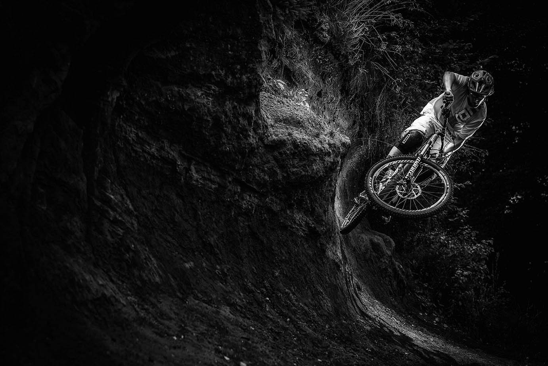In the Dark - Hannes Klausner - Mountain Biking Pictures - Vital MTB