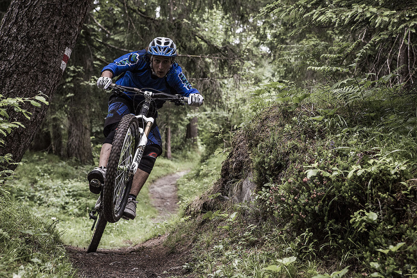 Ripping it Manual Style - Hannes Klausner - Mountain Biking Pictures - Vital MTB