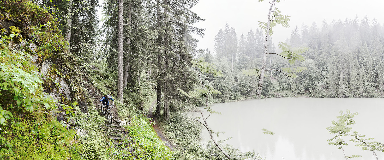 Ride to the Lake - Hannes Klausner - Mountain Biking Pictures - Vital MTB
