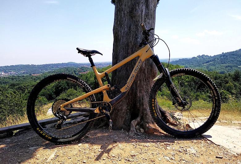 custom build santa cruz nomad cc 2018