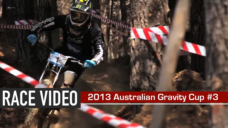 RACE VIDEO - 2013 Australian Gravity Cup Round 3, Bright, Victoria