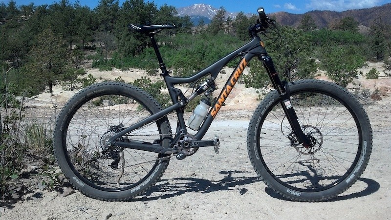2014 Santa Cruz Bronson Carbon/Sram/Rockshox