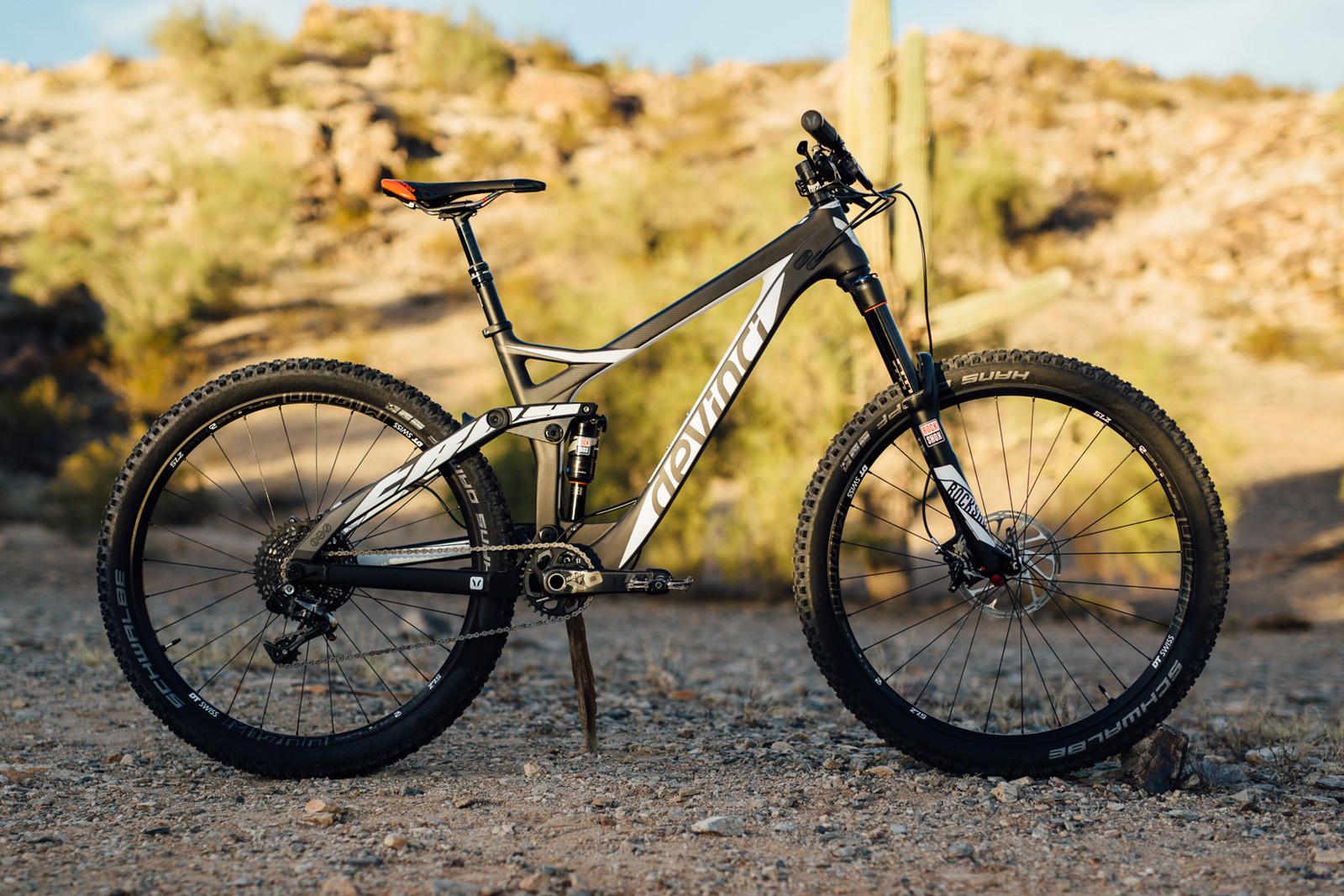 2016 Devinci Troy Carbon RR - 17 Bikes Tested - 2016 Vital MTB Test Sessions - Mountain Biking Pictures - Vital MTB