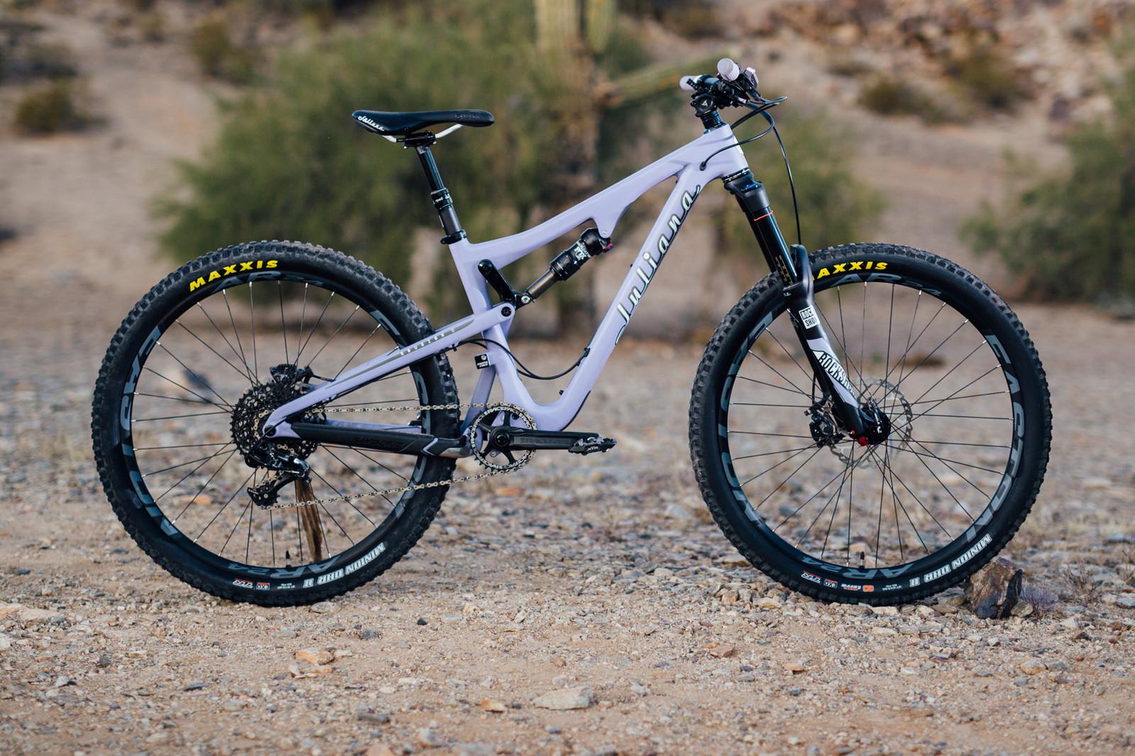 2016 Juliana Roubion C S - 17 Bikes Tested - 2016 Vital MTB Test Sessions - Mountain Biking Pictures - Vital MTB