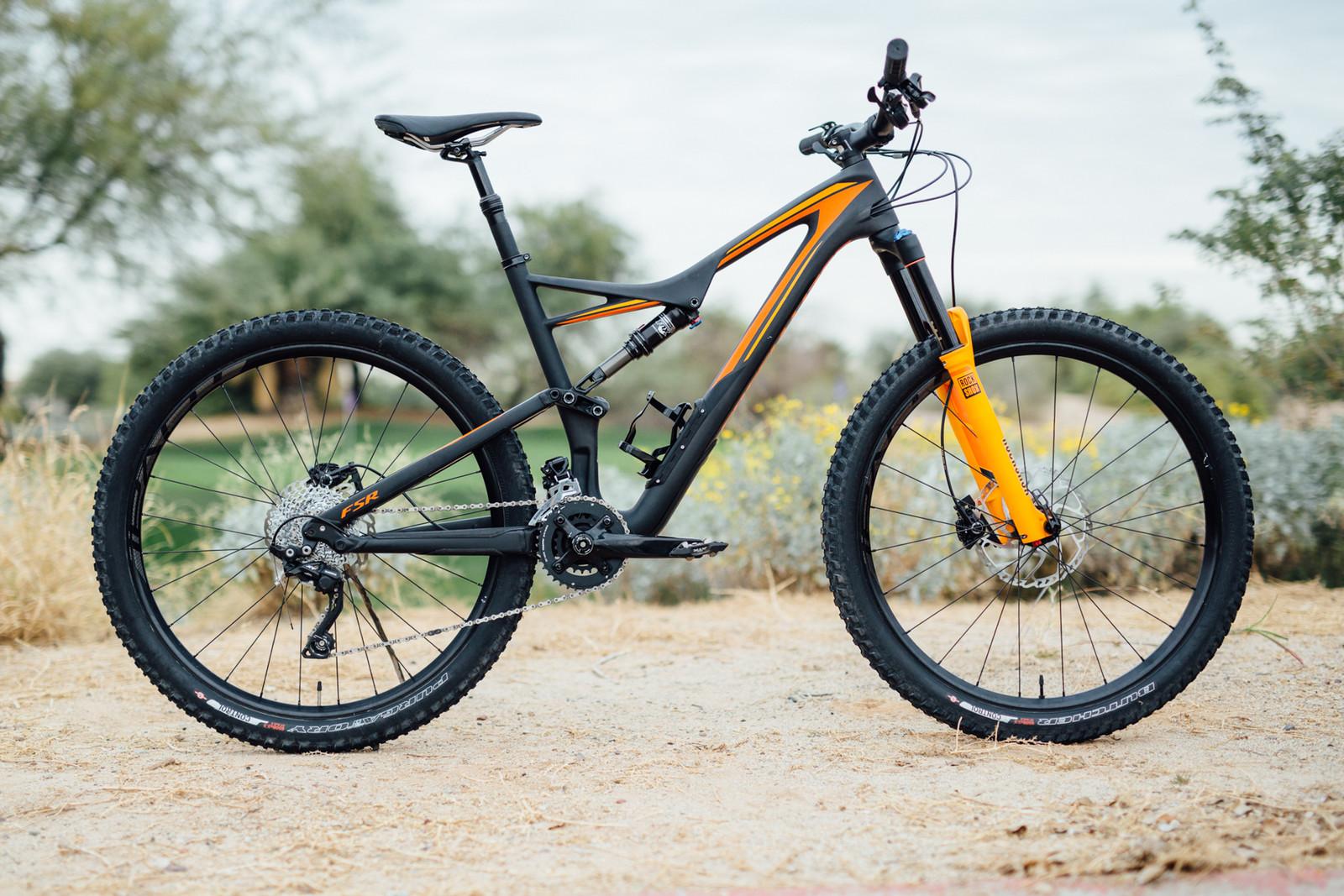 2016 Specialized Stumpjumper FSR Comp Carbon 650B - 17 Bikes Tested - 2016 Vital MTB Test Sessions - Mountain Biking Pictures - Vital MTB