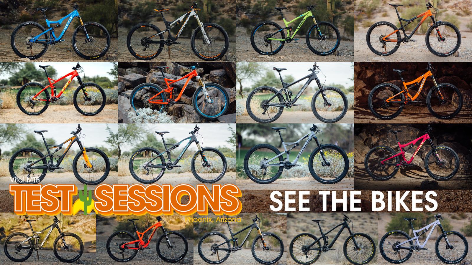 17 Bikes Tested - 2016 Vital MTB Test Sessions - 17 Bikes Tested - 2016 Vital MTB Test Sessions - Mountain Biking Pictures - Vital MTB