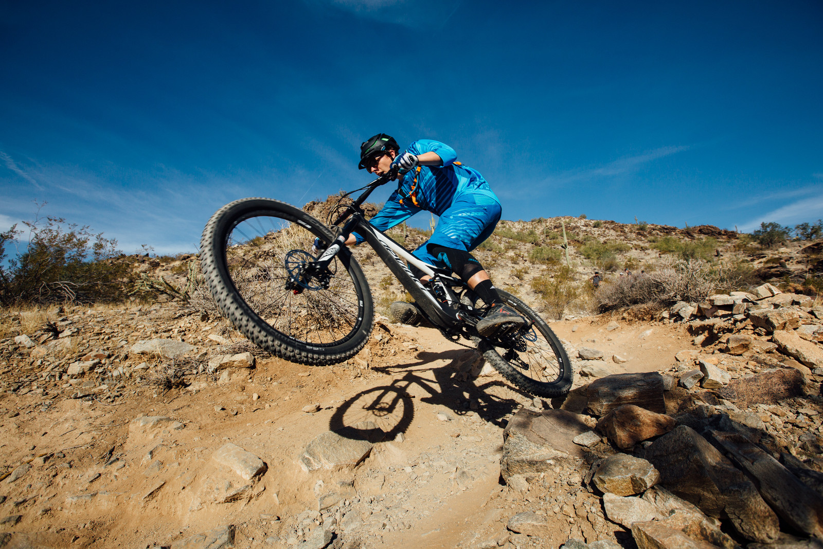 No Idea Where He's Headed - Just The Bangers - 2016 Vital MTB Test Sessions Photo Gallery - Mountain Biking Pictures - Vital MTB