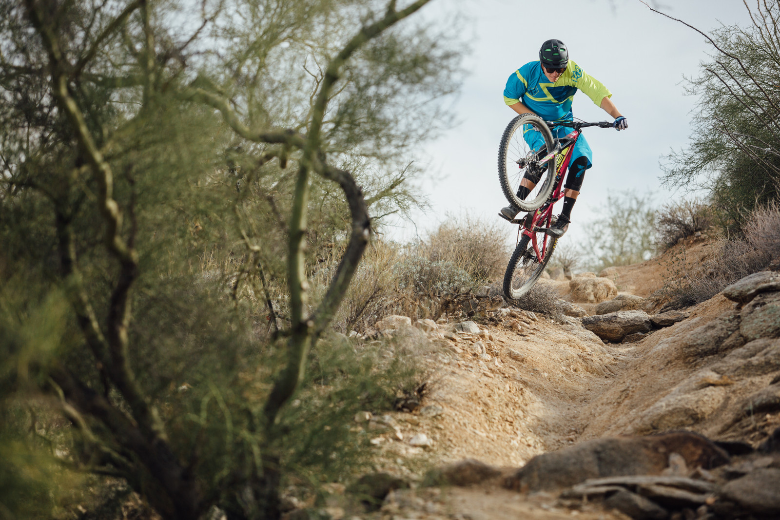 There's Smooth Stuff on Geronimo? - Just The Bangers - 2016 Vital MTB Test Sessions Photo Gallery - Mountain Biking Pictures - Vital MTB