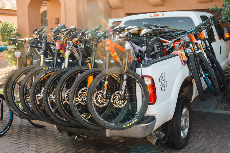 How Many Bikes Can Fit Safely In One Truck Just The Bangers 2016 Vital Mtb Test