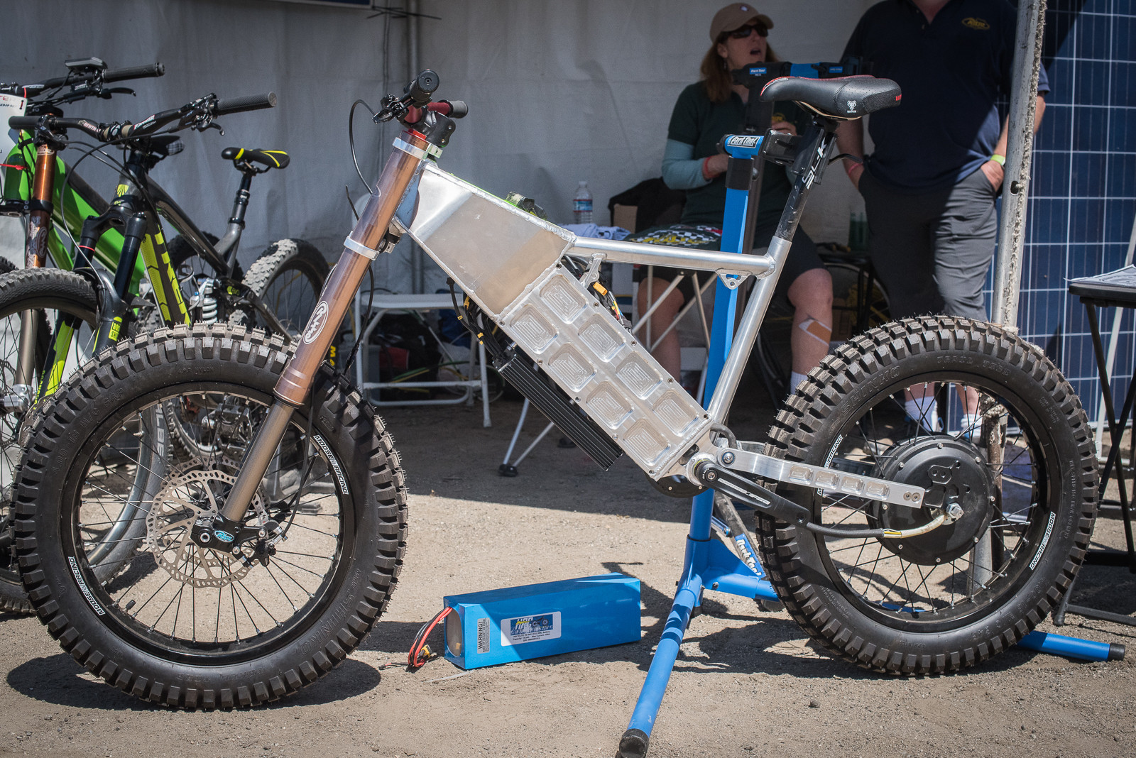 "Risse Racing Custom ""Mad Max"" Super E-Bike - 2016 Sea Otter Classic Pit Bits - Mountain Biking Pictures - Vital MTB"