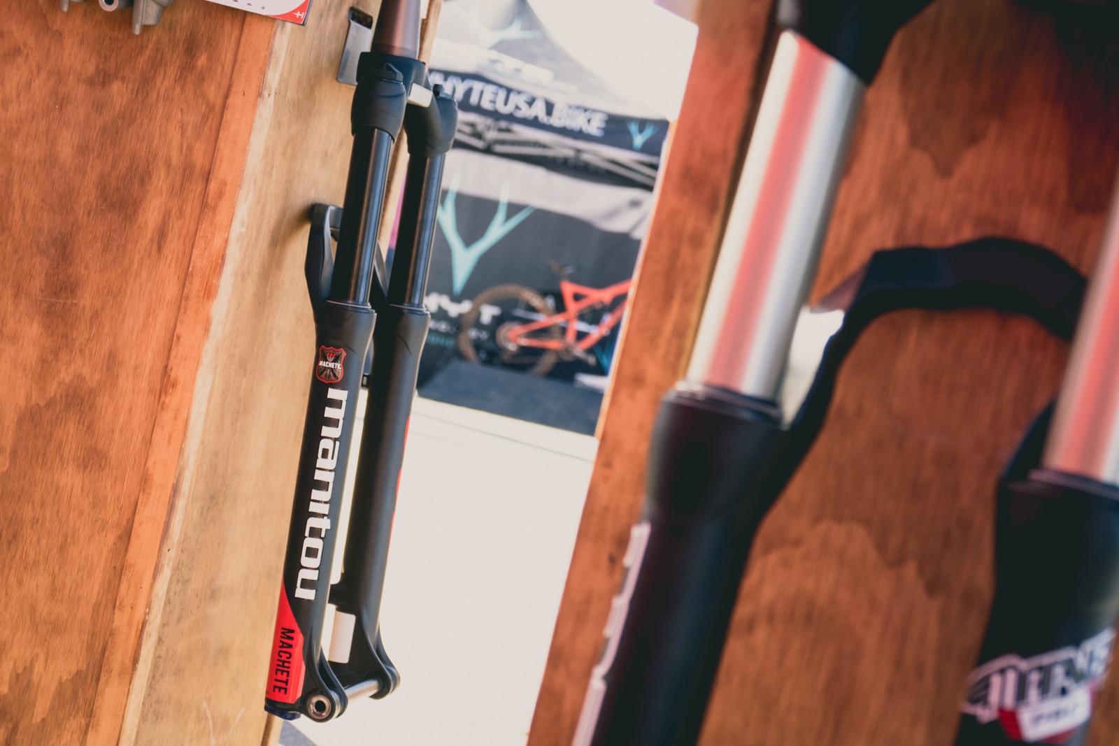 Manitou Machete 27.5+ and 29+ Fork - 2016 Sea Otter Classic Pit Bits - Mountain Biking Pictures - Vital MTB