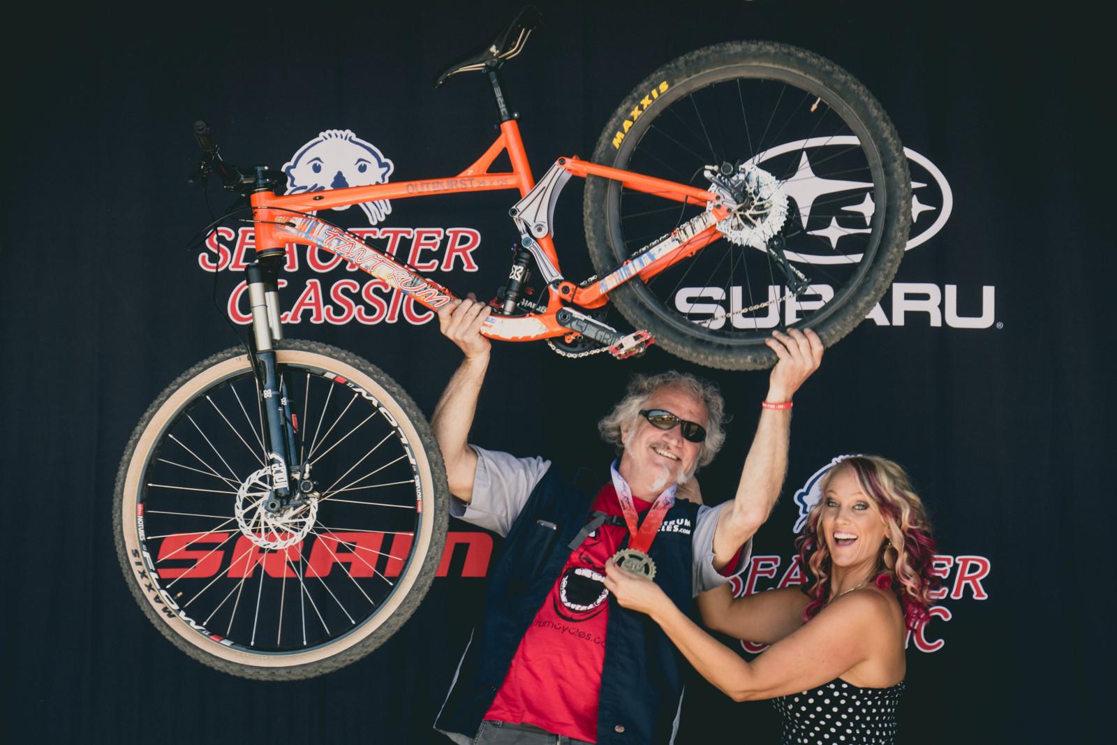 Tantrum Downburst Mixed Wheel 29/27.5 Bike - 2016 Sea Otter Classic Pit Bits - Mountain Biking Pictures - Vital MTB