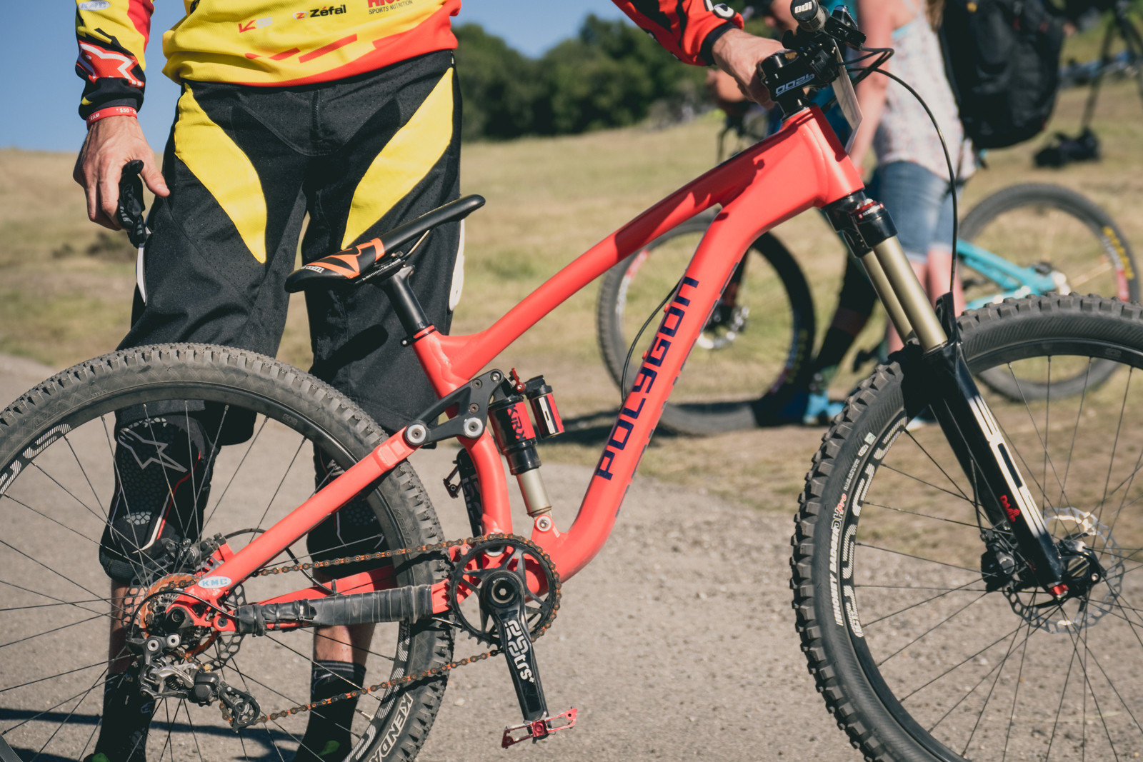 Andrew Neethling's Prototype Polygon Dirt SS Bike - 2016 Sea Otter Classic Pit Bits - Mountain Biking Pictures - Vital MTB