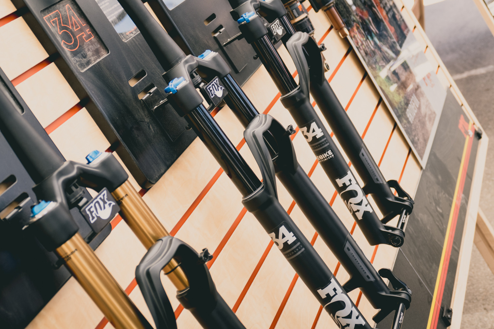FOX Performance Series Forks with GRIP Damper - 2016 Sea Otter Classic Pit Bits - Mountain Biking Pictures - Vital MTB