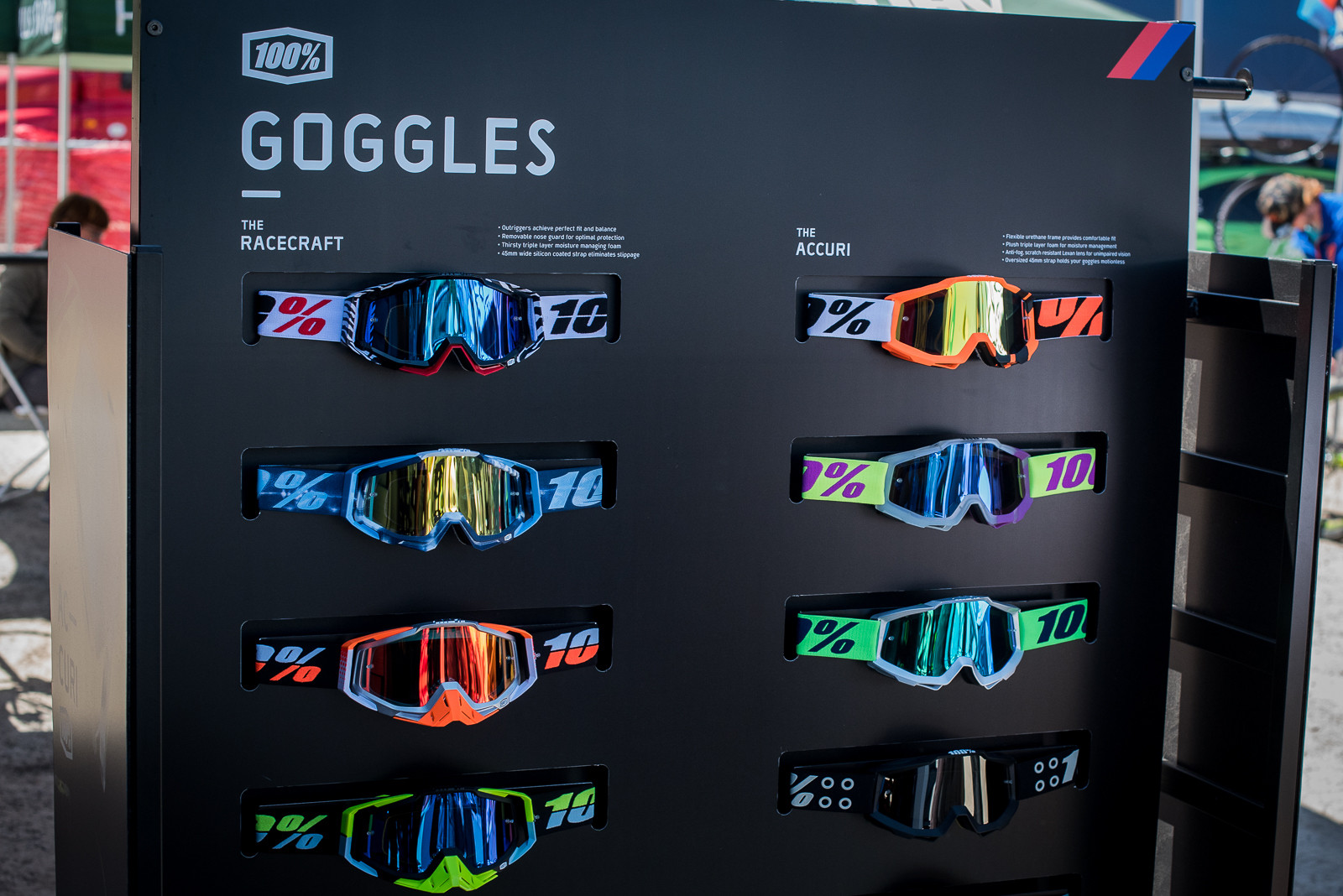 100% 2016 Goggle Colorways - 2016 Sea Otter Classic Pit Bits - Mountain Biking Pictures - Vital MTB
