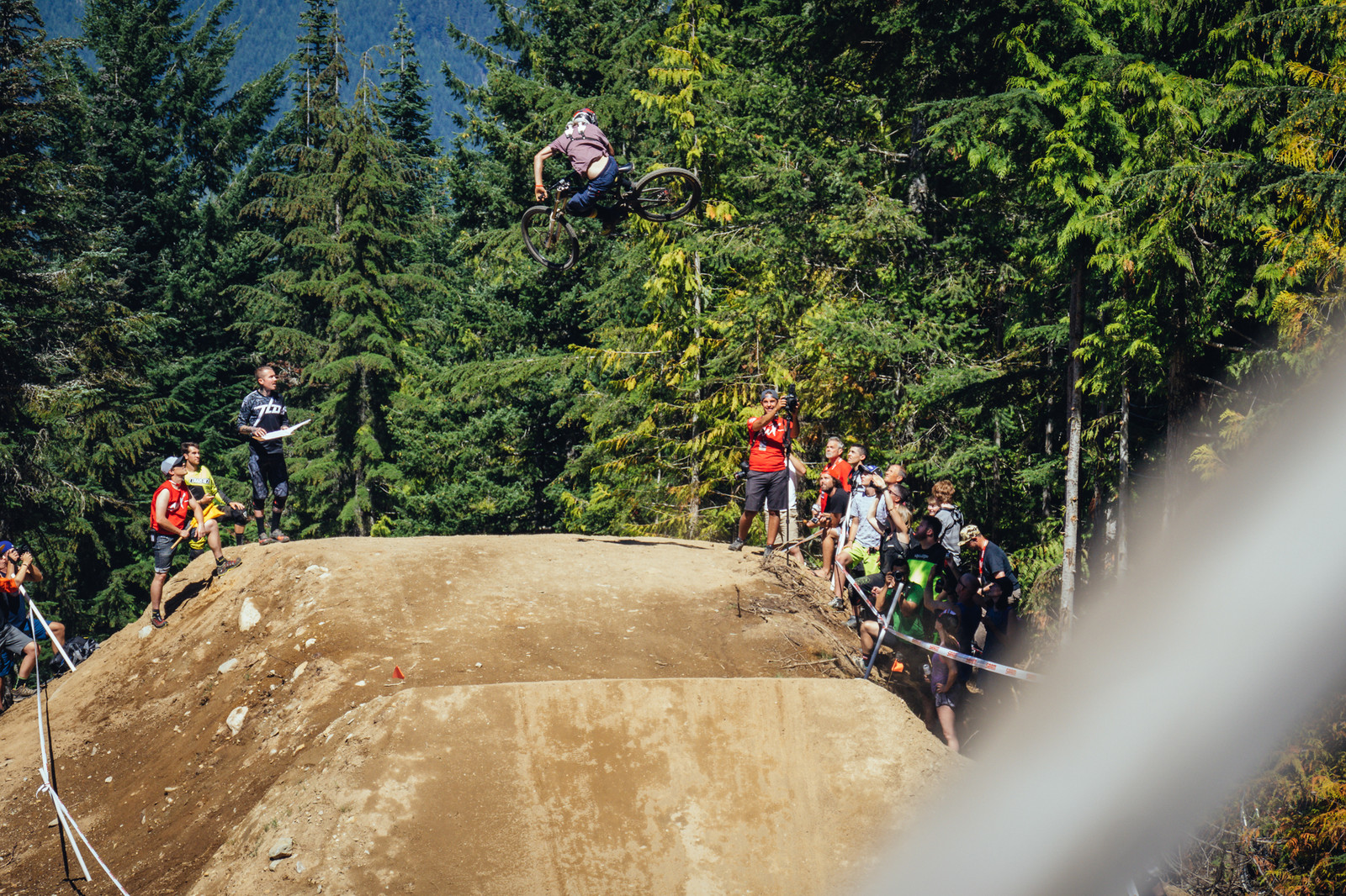 Cranked - Whip Off World Champs Qualifiers - Going for Broke: 14 Super Sideways Senders from Whip Off World Champs Qualifiers - Mountain Biking Pictures - Vital MTB